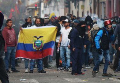 En Cuenca se denuncia la acción de la Fuerza Pública durante las protestas